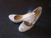 Beautiful diamante-covered shoes