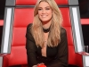 2014 Delta Goodrem\'s black pantsuit for The Voice
