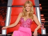 2014 Delta Goodrem's pink gown for The Voice