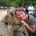 Helen with a Tiger