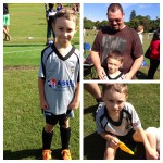 Tom our middle grandson loves soccer, leggo and putting on a show! He is the funniest little munchkin!