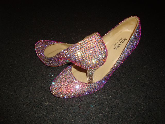 Diamante shoe