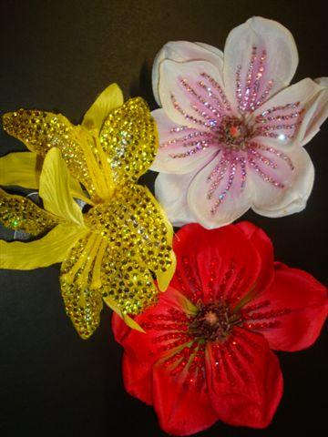 Diamante flowers